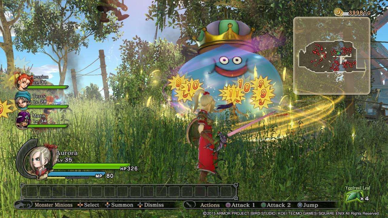 Dragon Quest Heroes The World Trees Woe and the Blight Below